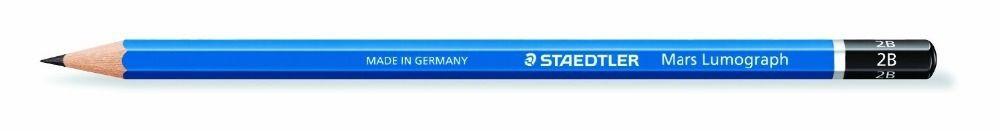 Image 5 - Премиум качество Staedtler 100 Mars Lumograph завершить рисунок Портативный чехол Комплект-in Простые карандаши from Офисные и школьные принадлежности