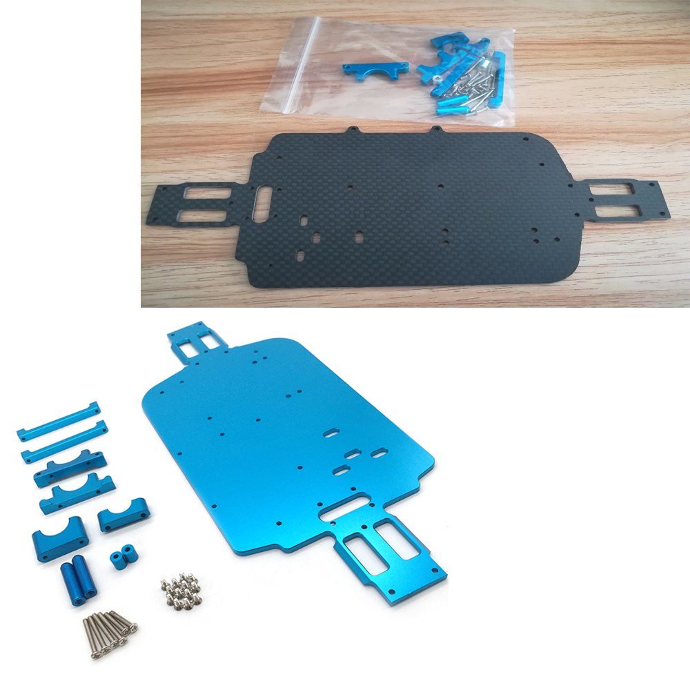 1//18 RC Car Underbody Chassis for WLtoys A949 A959 A969-b A979-b k929-b Part