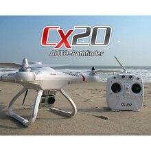 Orginal Cheerson CX20 CX-20 Modo de 2.4G 4CH 6 Eixos Giroscópio RC Quadcopter Zangão Profissional Versão Open-source Auto-Pathfinder RTF