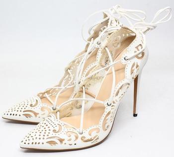 SunNY Everest 2018 New pu women shoes high heels Female shoes custom lace up shoe plus size 34-48 p028