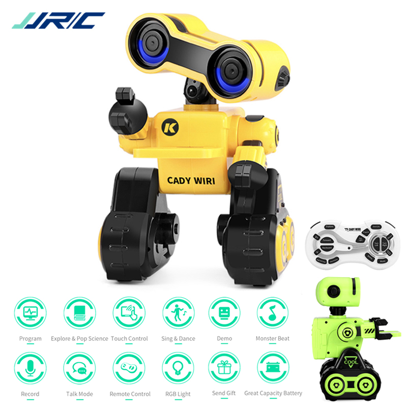 R13 Smart Robot Programmable Toy Brinquedo Touch Control Voice Message Record Sing Dance Robotica Kit Intelligent Robot For Kids