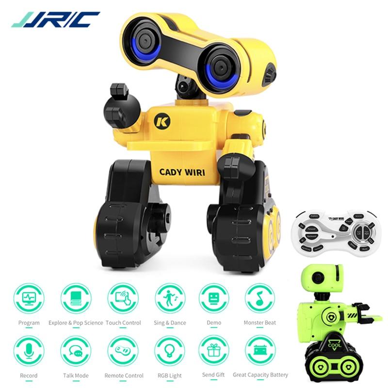 R13 Robot jouet Programmable Brinquedo commande tactile Message vocal enregistrement chanter danse Robotica Kit Robot Intelligent pour les enfants