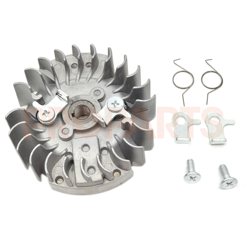 45CC 52CC 58CC 4500 5200 5800 Chinese Gasoline Chainsaw Flywheel with Metal Pawl Set Chain Saw Spare Parts