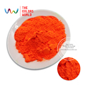 TCFG-613 Orange Red neon Colors Fluorescent Neon Pigment Powder for Nail Polish&Painting&Printing 1 lot= 10g/50g