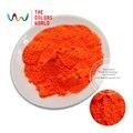 Tcfg-613 naranja rojo de neón colores fluorescentes de neón pigmento polvo para esmalte de uñas y pintura & Printing 1 lote = 10 g / 50 g
