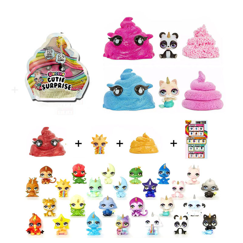 Toys & Hobbies Strong-Willed Poopsie Slime Surprise Unicorn Dash Horse Model Action Figure Toys Earth My Little Ponies Toys Horse Model For Children Gift Terrific Value