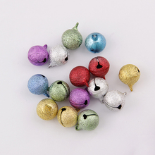 New Metal School Bell Round Shape 6.10.12mm Copper Shape Jingle Bells For Charm Bells Necklace Fit Festival/Party/Pet's Necklace jingle bells