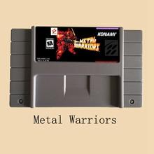 Metal Warriors USA Version 16 bit Video Game Card