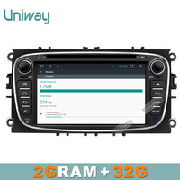 Uniway Android 6 0 Car Dvd Ford Focus Ford Mondeo Ford S MAX C MAX Kuga