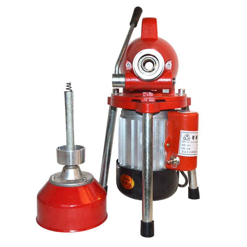 GQ 80 Electric Pipe Dredging Sewer Tools Professional Clear Toilet Blockage Drain Cleaning Machine Home Automatic