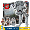 1068pcs Star Wars Universe New 05052 Ultimate Collection AT-ST DIY Model Building Blocks Children Toys Compatible with Lego