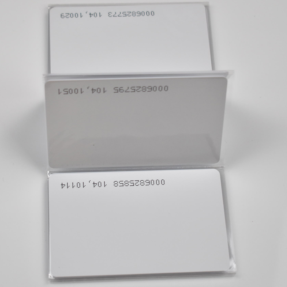 10pcs/lot TK4100 4102 /EM 4100 chip RFID 125KHz blank card Thin PVC ID Smart Card