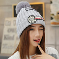 High Quality 2015 Fashion Unisex Women Men hip hop Star Knit Crochet Ski Knitted Winter Warm Hat Beanie Caps 5 Colors
