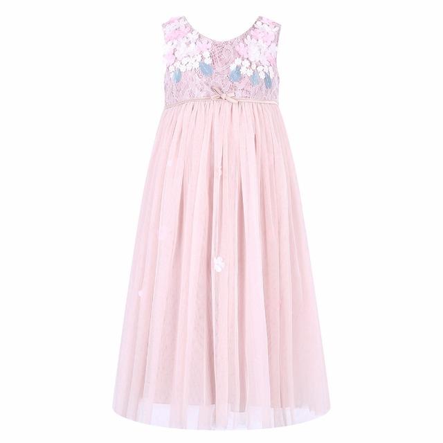 Meninas do bebê Vestido de Verão 2015 Da Marca Meninas Vestido De Noiva de Renda Vestido de Princesa para Meninas Roupa Dos Miúdos Vestidos de Roupas Para Crianças