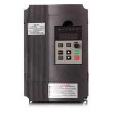 Преобразователь частоты Регулируемая скорость VFD инвертор 1.5KW/2.2KW/4KW ZW-AT1 3 P 220 В выход для двигатель низкочастотный инвертор wzw