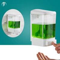 1000 ml Xà Phòng Khách Sạn Bình Chứa Chất Lỏng Rửa Lỏng Dispenser Xà Phòng Trong Suốt Tay Dispenser Tường Gắn Tắm Xà Phòng