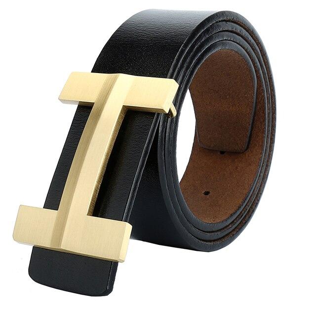 2018 famosa marca de lujo cinturones de hombre correa de cuero genuino Real  para mujer Jeans ed5ce4eab780