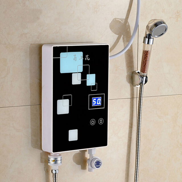 Instant Electric Shower Electric Water Heater Speed Hot Shower Bath  Induction Heater Electric Hot Water Heater