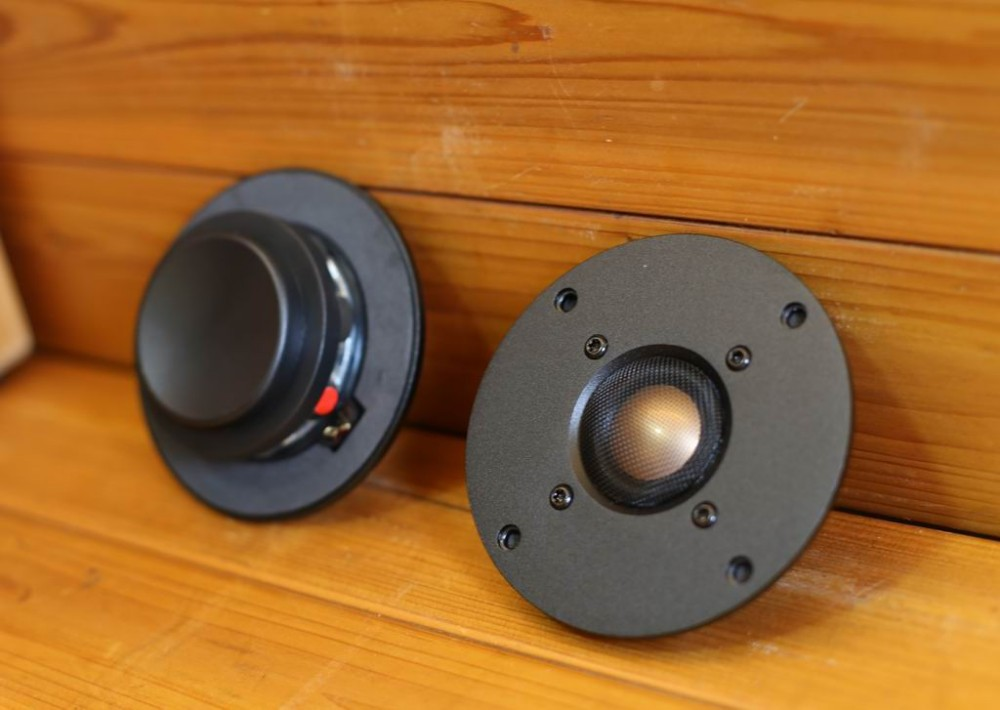 pair Melo David audio copper&Beryllium dome tweeter speaker KO XT25 9300 NEO eddition