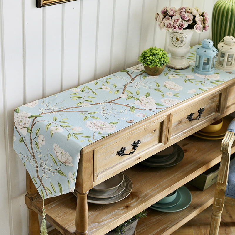 Table Cloth TV Cabinet Bed Flag Table Flag Fashion Coffee