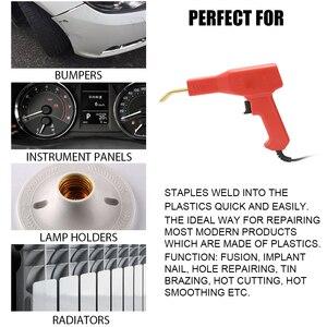 Image 2 - Soldador de plásticos profesional, herramientas de garaje, grapadora en caliente, máquina de reparación de grapas, parachoques de coche, reparación, grapadora caliente