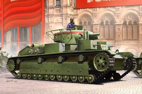 RealTS HobbyBoss 1 35 Soviet T 28 Medium Tank Plastic Model Kit 83851