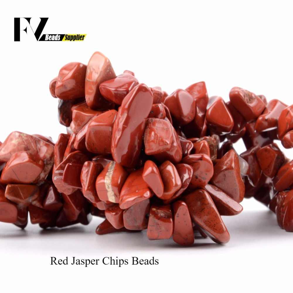 Natuursteen Kralen 5mm-8mm Amethist Turkoois Amazoniet Chips Kralen voor Handwerken Sieraden Maken Armband Ketting 15 inches