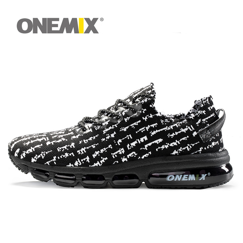 2018 onemix Air Running Shoes for Men Women Breathable Trail Fitness Sneakers Athletic Run Comfortable Crosser Sports Mesh Shoes apple summer new arrival men s light mesh sports running shoes breathable fly knit leisure comfortable slip on sneakers ap9001
