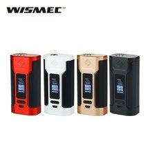 Оригинальный wismec Хищник 228 TC mod 228 Вт/50A Mod для wismec elabo распылитель электронные сигареты Predator 228 Вт поле mod без батареи