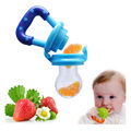 Baby Silicone Pacifier Clip Attache Sucette Kids Nipple Fresh Food Milk Nibbler Food Feeder Safe Baby Feeding Pacifier Bottles