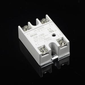 1 шт Высокое качество Фирменная Новинка Muxi твердотельные реле SSR-10DD SSR-25DD SSR-40DD 5-24VDC для 24-380VDC 6-20mA Контроль температуры