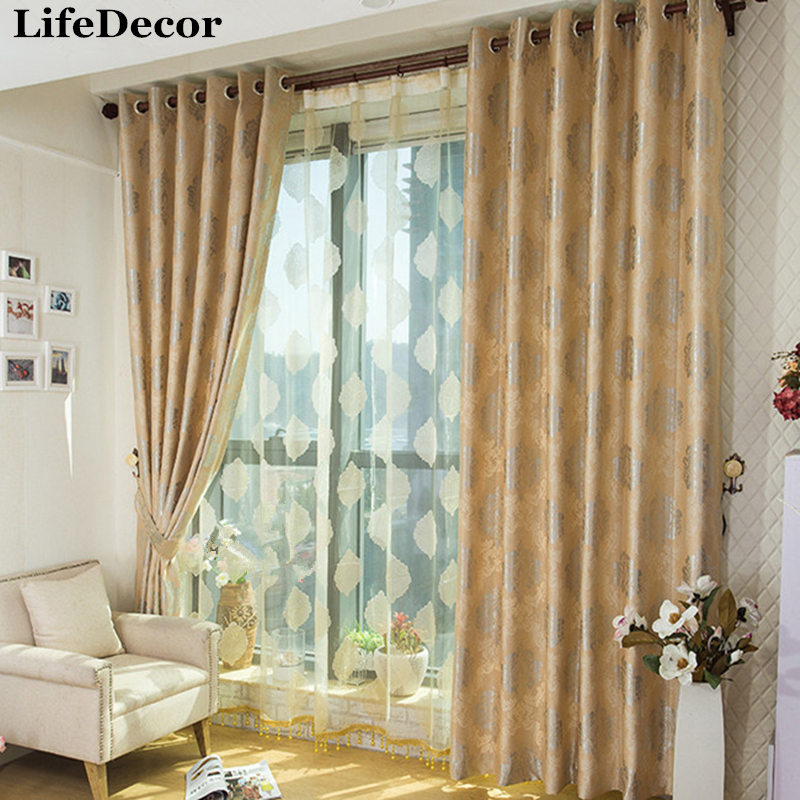 Double Faced Velvet Jacquard Curtain Eco Friendly Dodechedron Fashion  Curtain Living Room Bedroom Window Curtains
