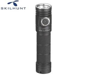 Image 3 - 2018 nouveau Skilhunt M200 CREE XP L LED lampe de poche de charge magnétique