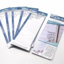 Купить онлайн 1 шт. простой отмечает съемный узоры красиво многоразовые закладки для письма канцелярских товаров WH28
