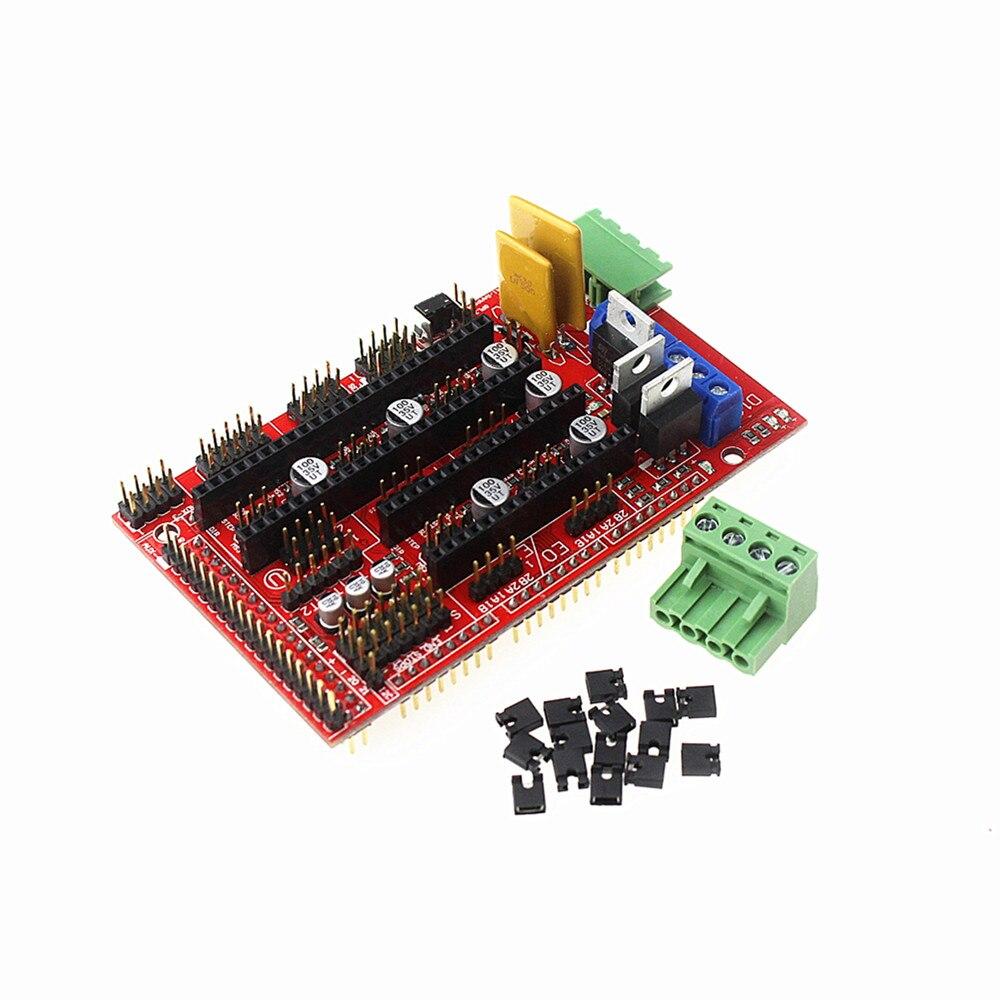 10pcs 3d Printer Ramps 14 Controller Control Panel For Reprap Mendel Circuit Board Spacer Print Models