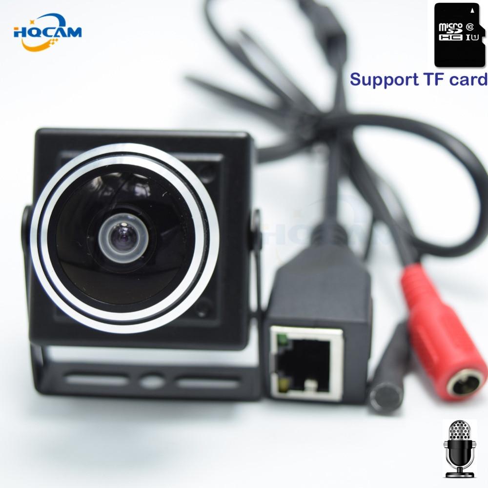 HQCAM CAMHI 960 P TF slot para Cartão De Áudio Mini Câmera IP Casa Câmera de segurança IP Câmera de CCTV Interior Câmera IP 1.78mm wide Angle lente