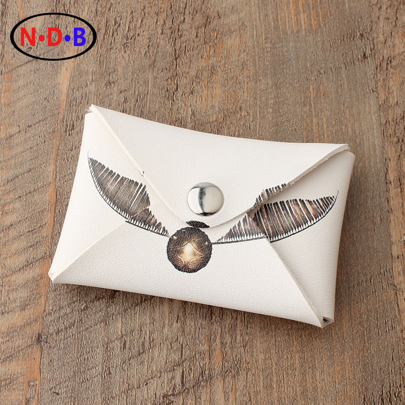 2017 Harry Potter coin purse Golden Snitch Clutch bag Young men and women coin bag unique skateboard shaped bottle opener keychain random color