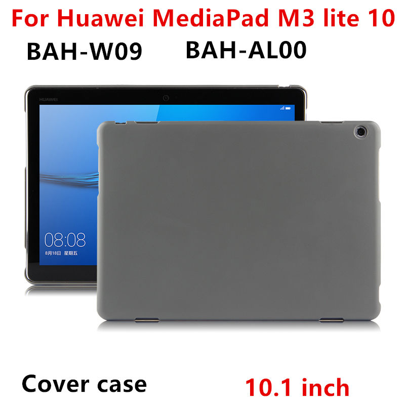 Case For Huawei Mediapad M3 Lite 10 Protective Shell Smart Cover Leather M3 Yonth BAH-W09 AL00 Tablet 10.1