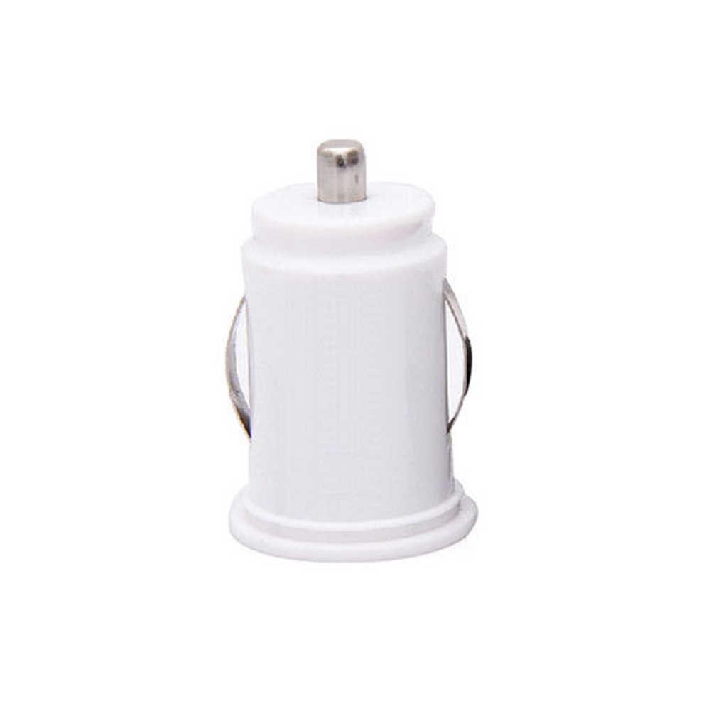 الأسود المزدوج مزدوجة USB شاحن سيارة السجائر ل فون سادة