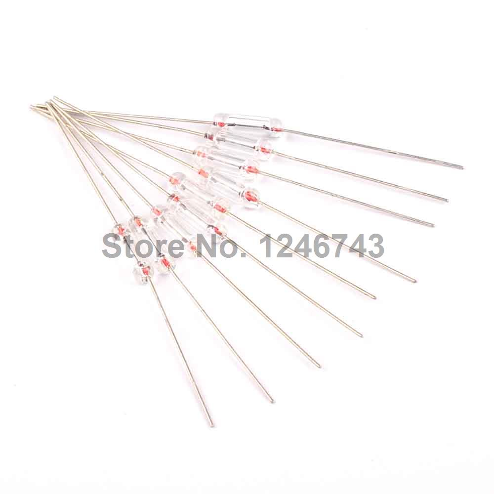 100PCS 3*10mm 4A Axial Fast Glass Fuse with Lead Wire 3*10