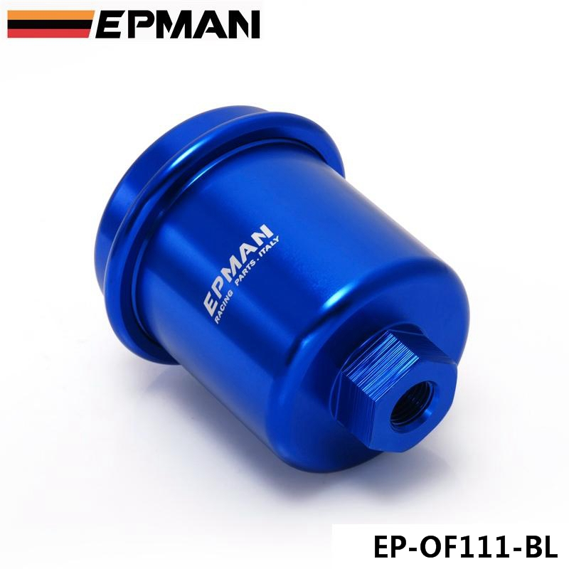 Automobiles & Motorcycles Epman Sport Racing Performance Blue High Flow Fuel Filter For Mitsubishi Tk-of111