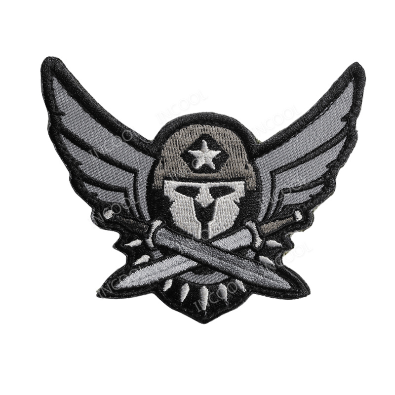 3d Spartan Medic Tactical Emt Embroidery Patch Combat Military Morale Patches Emblem Appliques Embroidered Badges Drop Shipping Cool In Summer And Warm In Winter Rock & Pop Entertainment Memorabilia