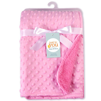 Soft Baby Blanket Bean Point Fleece Baby Blanket Newborn Baby