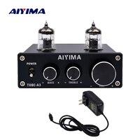 AIYIMA Amplificador Audio 6J1 Tube Mini Power Amplifier Board Professional Bile Preamplifier HIFI Preamp DC12V For Home Theater