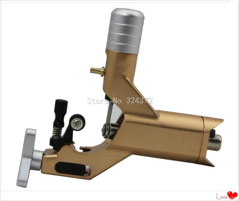 yellow Dragonfly-3 rotary tattoo machine