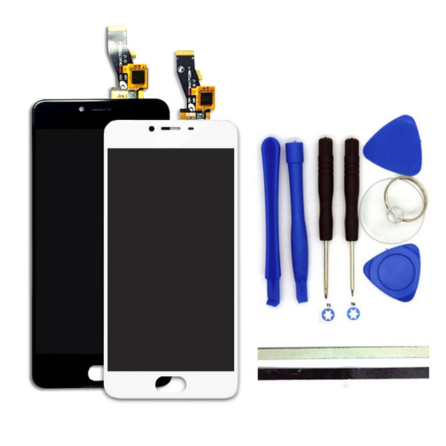 100% New Meilan 3S LCD Display + Touch Screen Digitizer  Replacement 5inches For MEIZU M3s Mini Cell Phone Parts With Free Tools