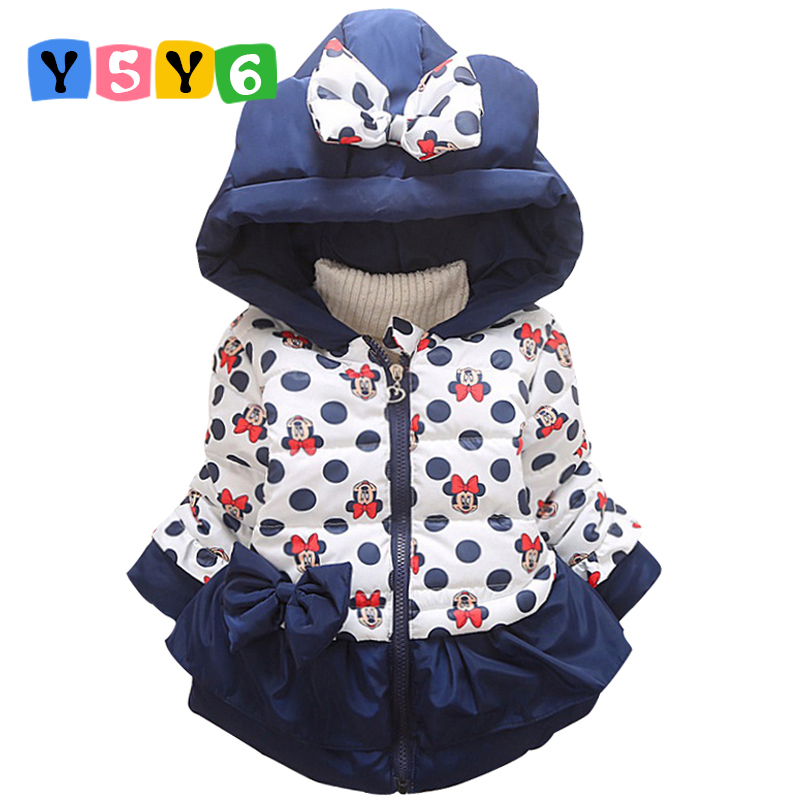 New Children Coat Minnie Baby Girls winter Coats full sleeve coat girl's warm Baby jacket Winter Outerwear Thick girl clothing new children coat minnie baby girls winter coats full sleeve coat girl s warm baby jacket winter outerwear thick girl clothing