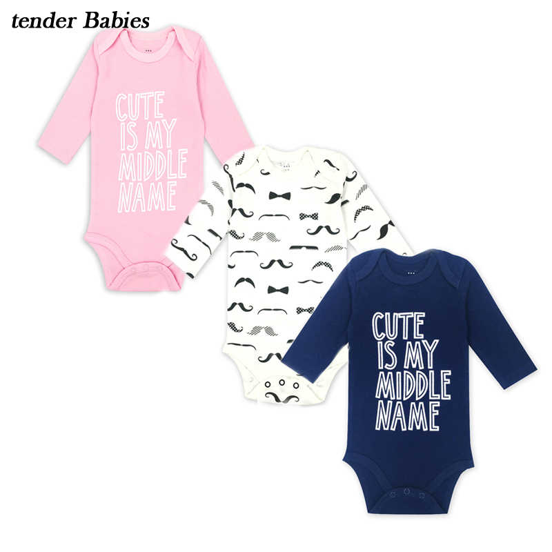 27675fde6827 Newborn Baby Clothing Long Sleeve Cotton Embroider Baby Rompers Girls Boys  Clothes baby Infantil Jumpsuit Costumes