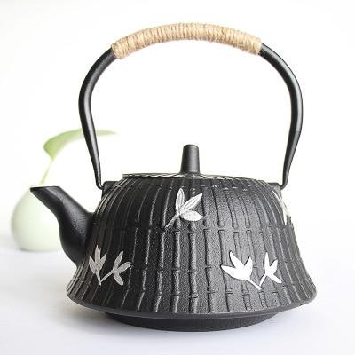 Teapot iron pot uncoated kettle kung fu tea setTeapot iron pot uncoated kettle kung fu tea set
