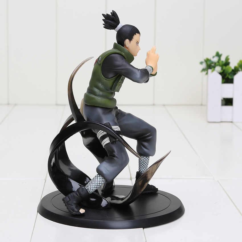 Naruto figurka Shikamaru Nara 1/8 skala malowane Naruto Shippuden bitwa Ver. Nara Shikamaru Doll rysunek pcv